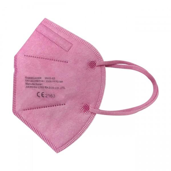 FFP2 - medisch mondmasker (doos met 20 stuks) - kleur: roze