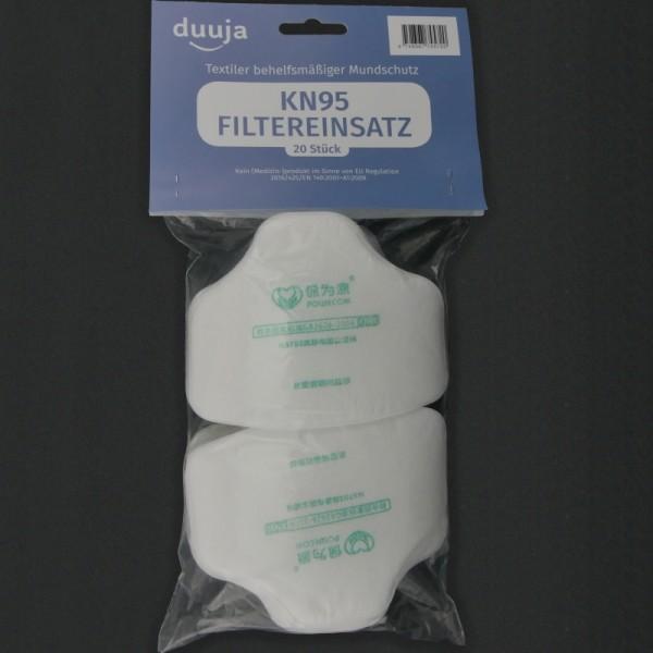 Inleg filters KN95 (set van 20)