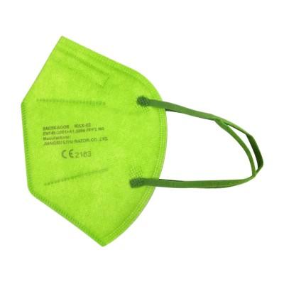 FFP2 - medisch mondmasker (doos met 20 stuks) - kleur: lichtgroen