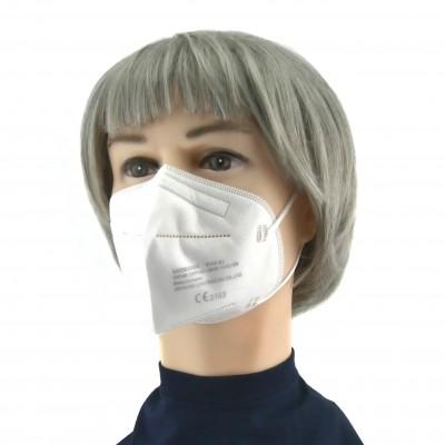 FFP2 - medisch mondmasker (doos met 20 stuks) - kleur: mix (3x van elke kleur; 2x wit)